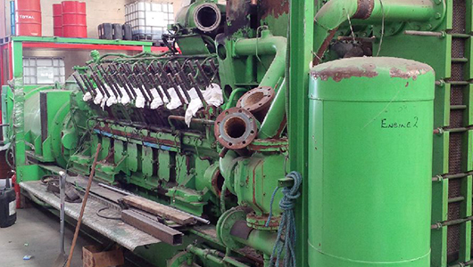 Ruston, Jenbacher, Caterpillar & more engines for sale